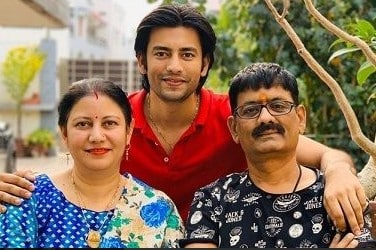 Aashay Mishra Family Photo