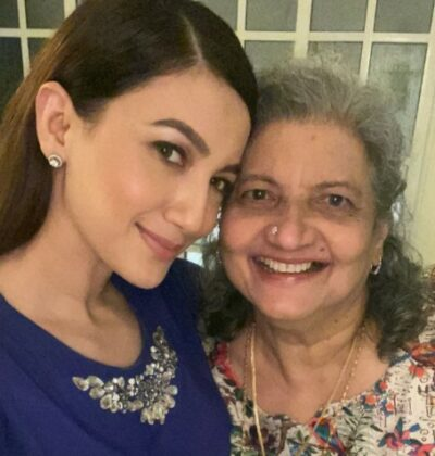 Khan With Her Mother