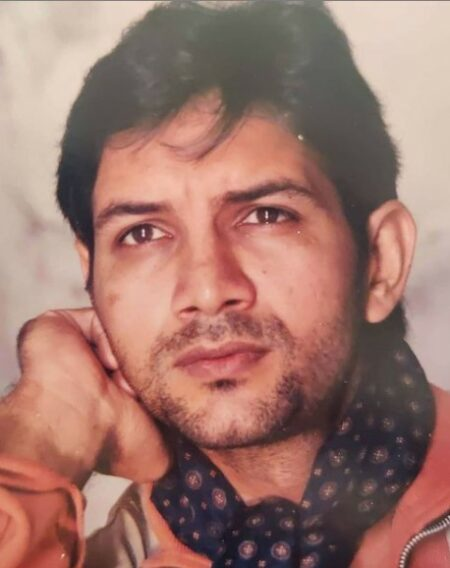 Kumud Mishra When Young