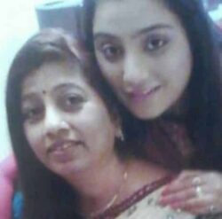 Neha With Her Mother