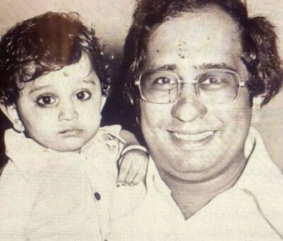 Nisar With His Father