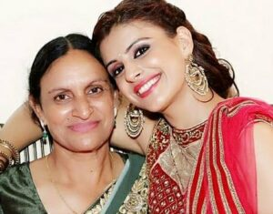 Sapna With Her Mother