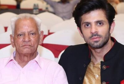 Kunal With His Father