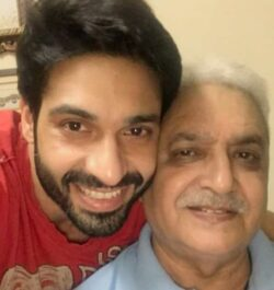 Kumeria with his father