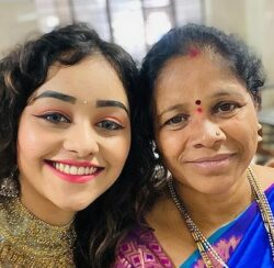 Dhanushree With Her Mother
