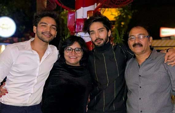 Preet Rajput with his family