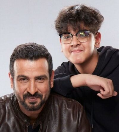 Ronit With His Son