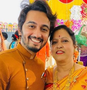 Vikas Patil With Mother