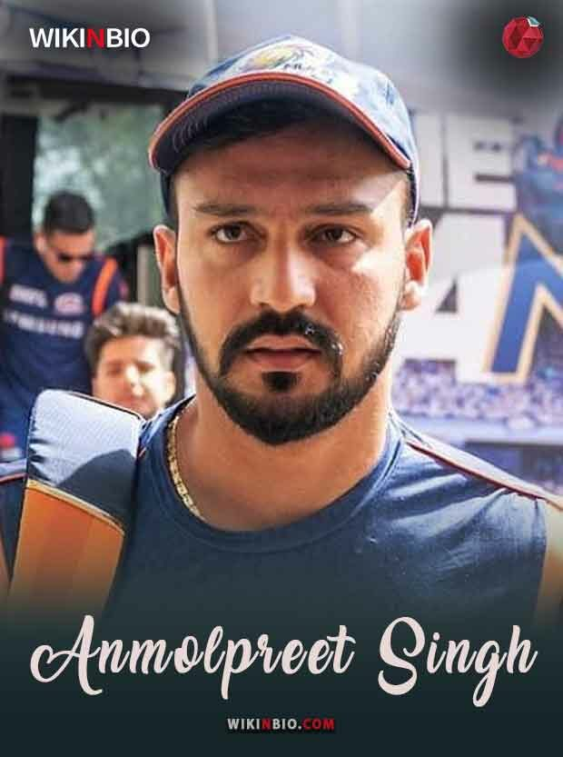 Anmolpreet Singh Age Birthday Height Weight Wife Girlfriend Caste Religion Family Matches Career Runs Wickets Photos Videos Wiki Biography etc