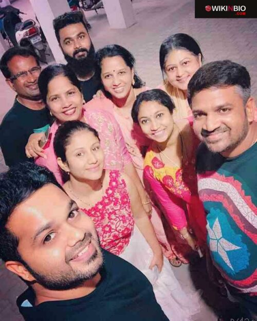 Sanjeev Karthick with Friends and Family