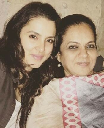 Taniya Deol with her Mother