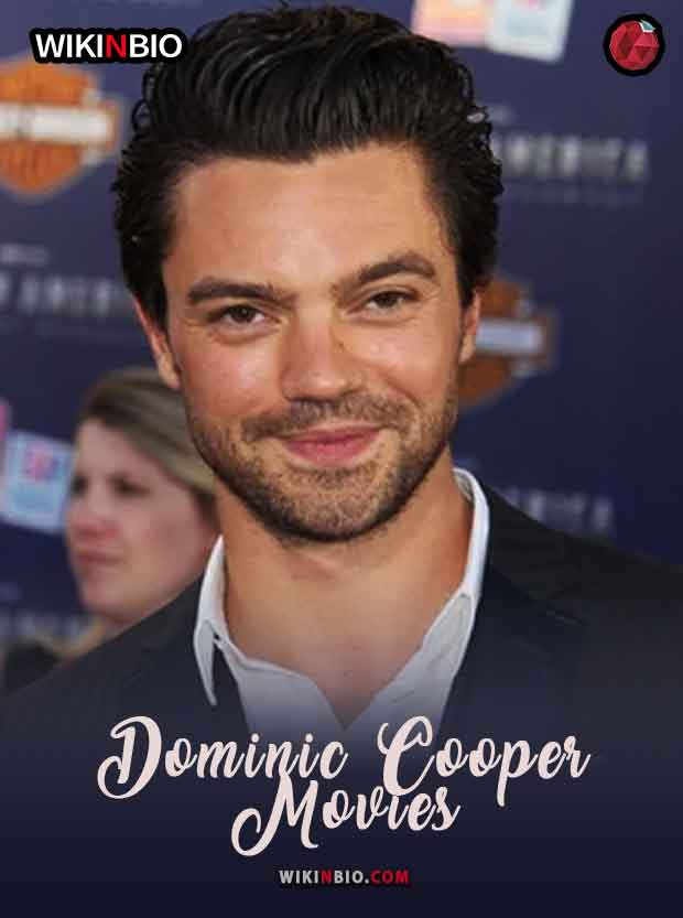 Dominic Cooper Movies and Tv Shows List