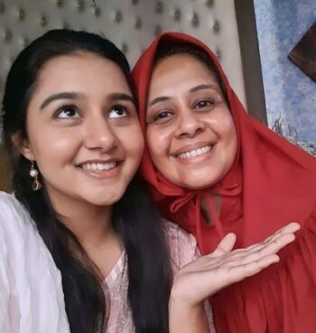 Munira With Her Mother
