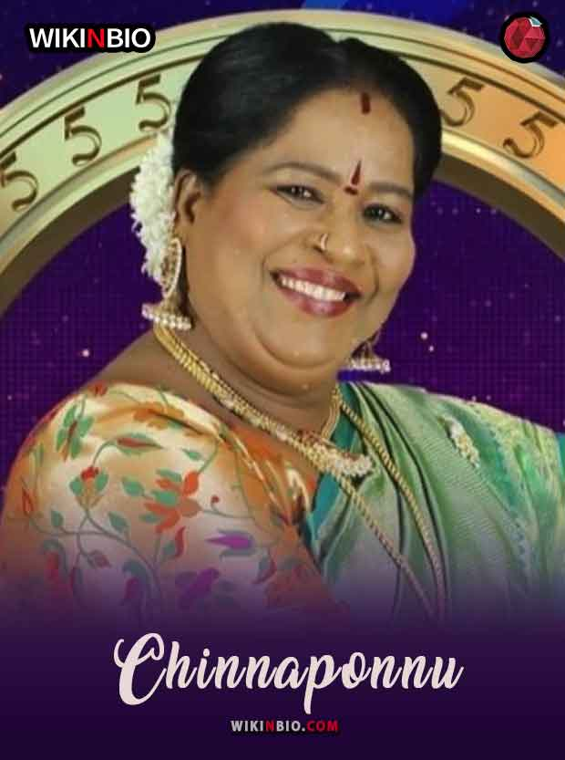Chinnaponnu bigg boss tamil 5 age height wife parents family photos videos movies wiki biography